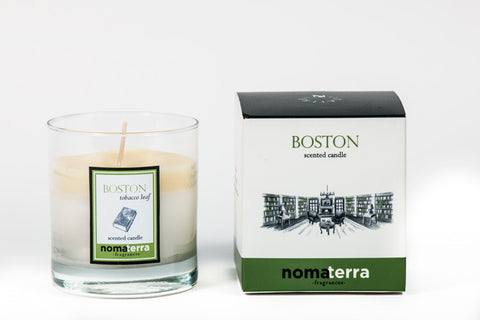 Hand Poured City Candle - Boston
