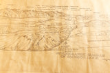 Jackson Hole Physiographic Map - Grant