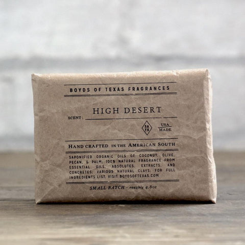 Boyd's Natural Bar Soap - High Desert