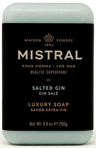 Mistral Bar Soap - Salted Gin