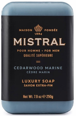 Mistral Bar Soap - Cedarwood Marine