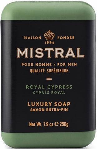 Mistral Bar Soap - Royal Cypress