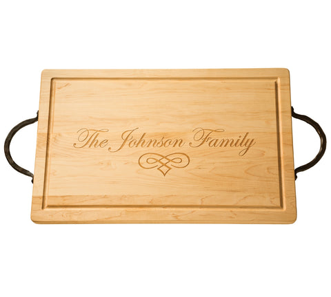 Large Rectangle Cutting Board - Customized