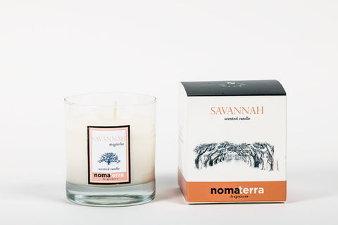 Hand Poured City Candle - Savannah