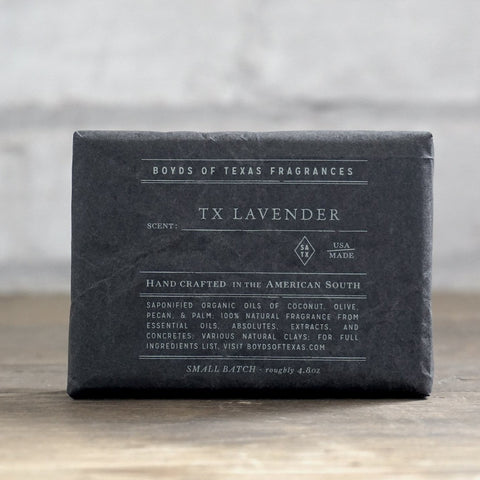 Boyd's Charcoal Soap - TX Lavender