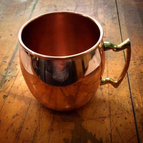 Solid Copper Moscow Mule Mug