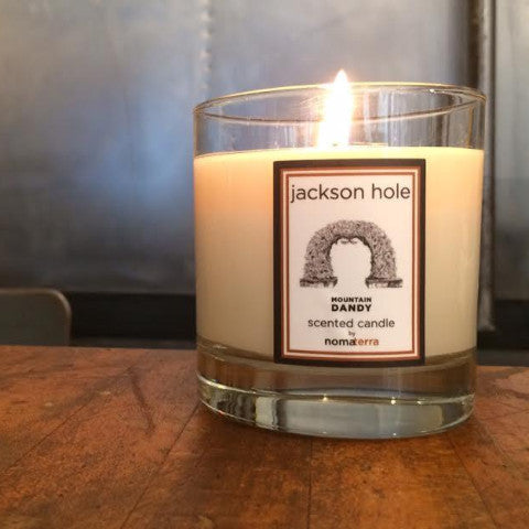 8.5oz Hand Poured Jackson Hole Candle