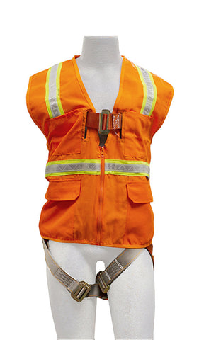 Madaco  Full Body Industrial Safety Harness Size L ANSI OSHA H-TB201-AV-L