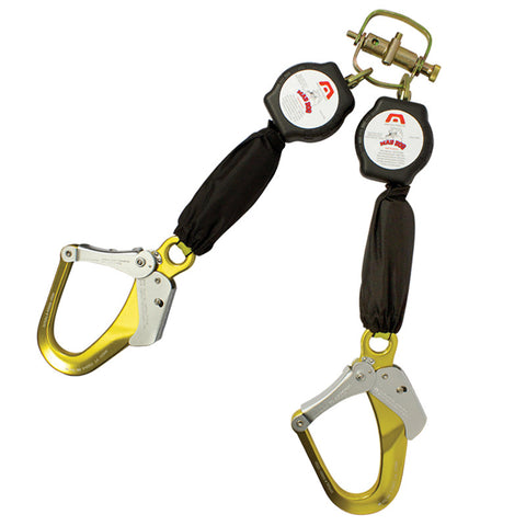 Mad Dog 6 Ft Twin Leg Self Retractable Lanyards