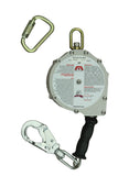 Mad Dog 30' Steel Cable Self Retractable Lanyard