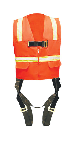 Madaco Full Body Industrial Safety Harness Size L ANSI OSHA H-TB205-AV-L