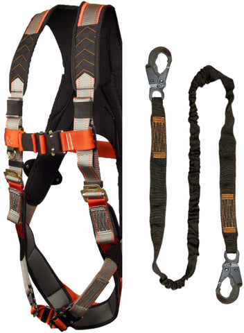Madaco Combo Padded harness with 6ft lanyard