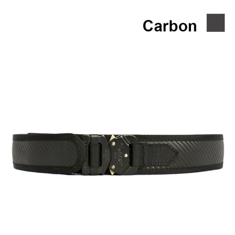 "1.5"" Type E Carbon Fiber Trouser Tuff Belt"