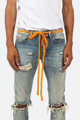 Drawcord Belt - Orange - mnml