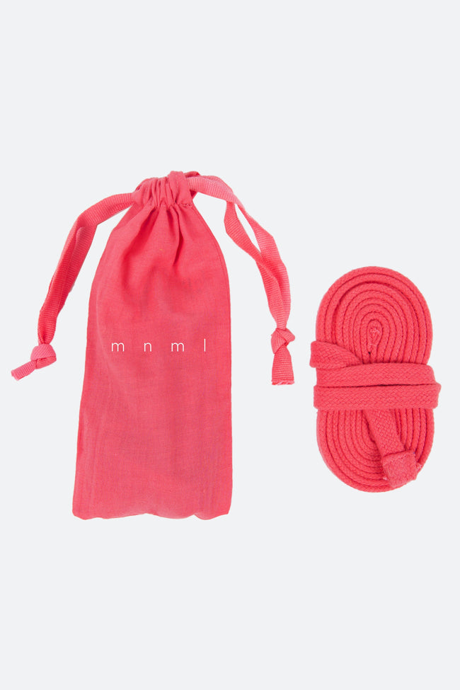 Drawcord Belt - Pink - mnml