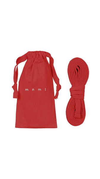 Drawcord Belt - Red - mnml