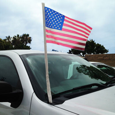 U.S. Poly Antenna Flag {EZ315}, Patriotic Products - Auto Apparel