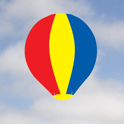 Giant 8' Hot Air Balloons Multi Color{EZ540}, Giant Inflatables - Auto Apparel