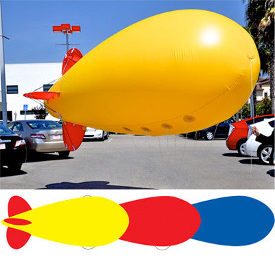 Giant 17' Blimp Balloon {EZ541}, Giant Inflatables - Auto Apparel