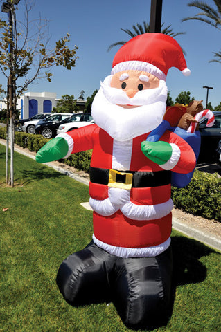 Holiday Inflatable - Santa Claus {EZ543-SANTA}, Giant Inflatables - Auto Apparel