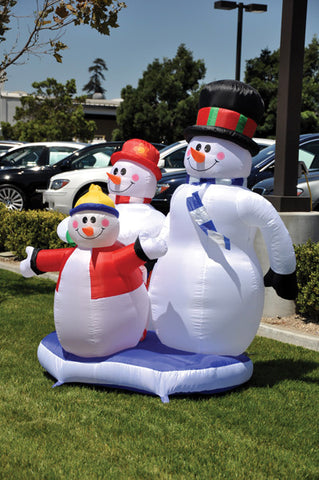 Holiday Inflatable - Snowman {EZ543-SNOW}, Giant Inflatables - Auto Apparel