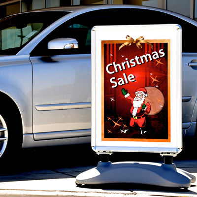 Holiday Outdoor Stock Message Inserts {EZ925-HOL}, Freestanding & Curb Signs - Auto Apparel
