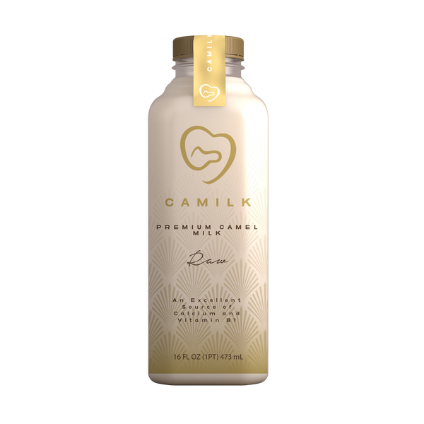 16oz Bottle of Raw Camel Milk