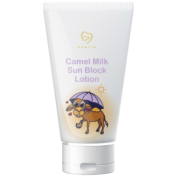Camel Milk Sun Block Lotion