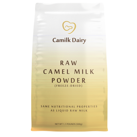 500g Raw Freeze-Dried Camel Milk Powder