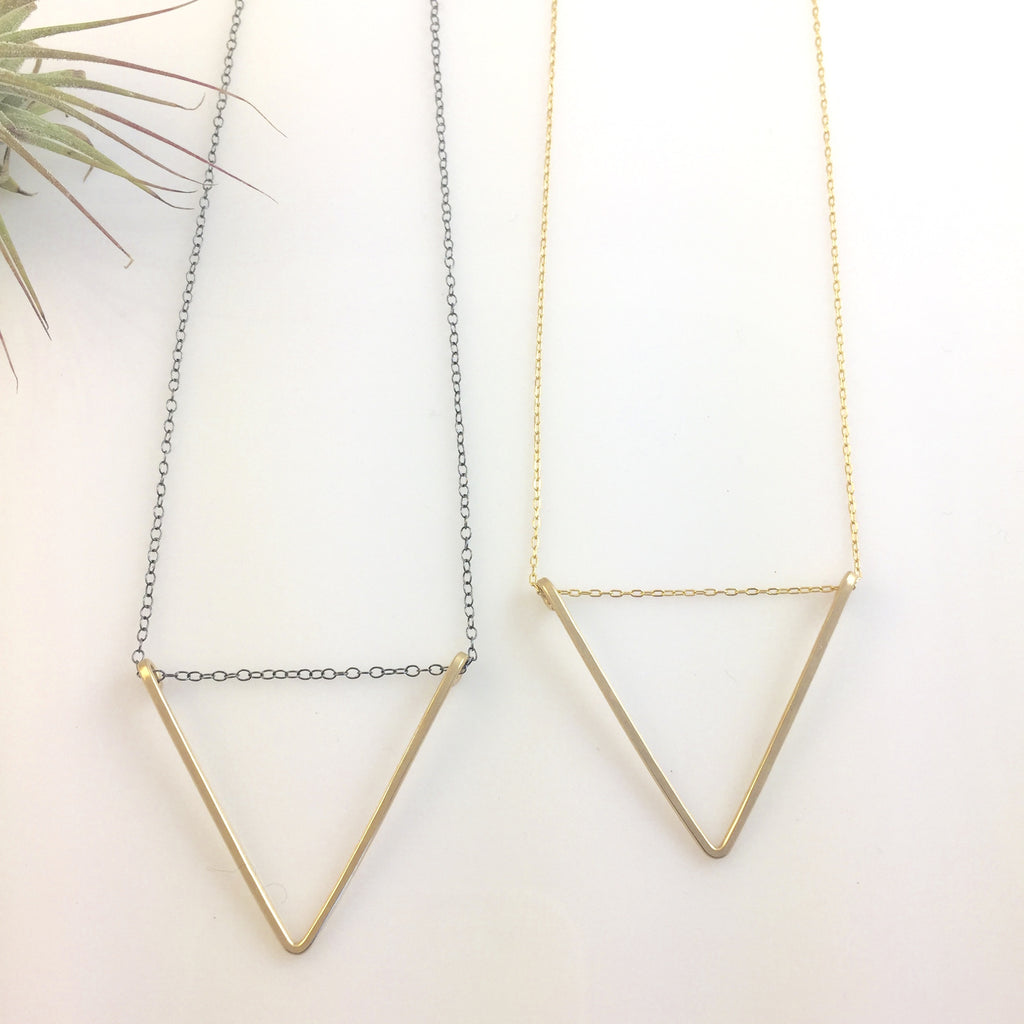Medium V Necklace