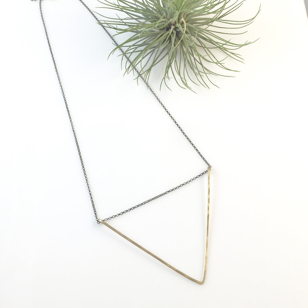Large V Necklace