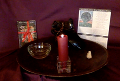 Simple altar made for we'moon creatrix