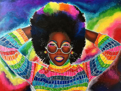 Destiney-Powell-Colorful-Queen-powerful-black-woman-art