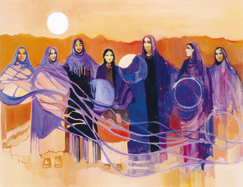 Diana Denslow, Seven sisters of the Moon