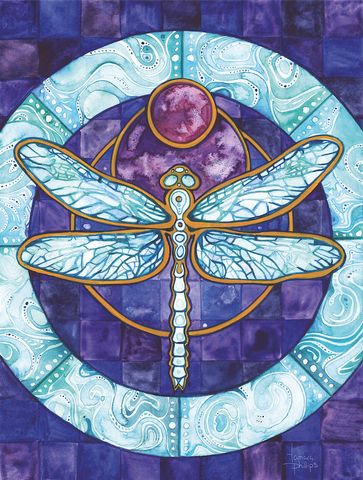 Dragonfly-Art-©- Tamara -Phillips- 2015-beautiful-insects