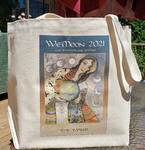 We'Moon Tote bags make a statement about you