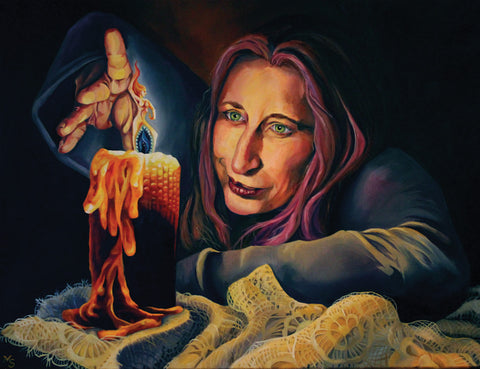 Melissa Stratton Pandina Inner Flame, Witchy art