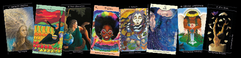 We'Moon Tarot a unique deck with art by many women