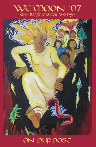 Cover of We'Moon 07 with art by Toni Truesdale