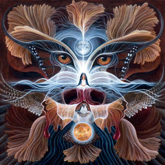 visionary art by Marnie Recker graces the cover of We'Moon 2022