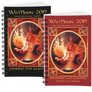 a best-selling moon calendar, earth-spirited handbook in natural rhythms­­, and visionary collection of women's creative work,