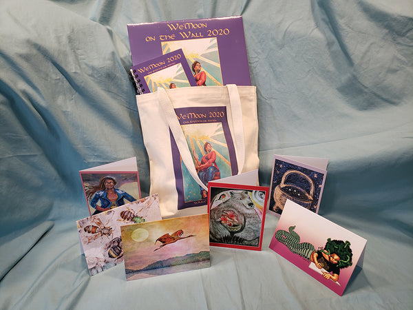 2020 Sweetheart Special Package: Your favorite astrological datebook, wall calendar, a beautiful set of greeting cards, all in a pretty tote bag!