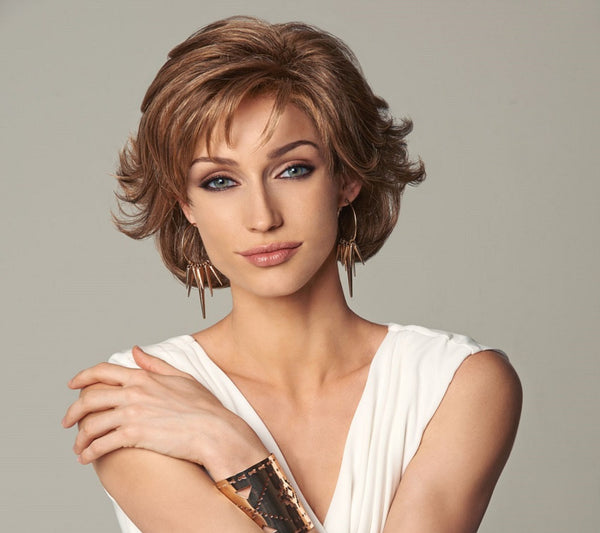 Everyday Elegant short luxury Wig for Alopecia Chemotherapy Auckland New Zealand