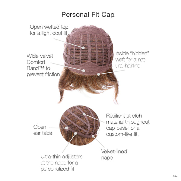 Folly Wig for Alopecia Chemotherapy Auckland New Zealand