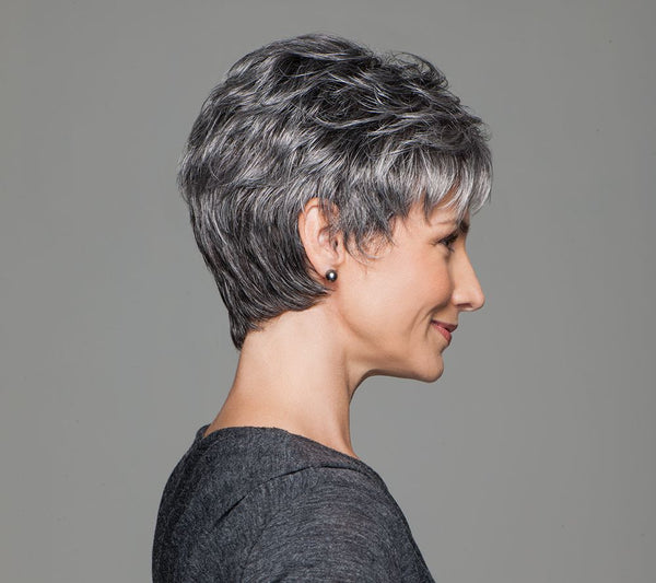 Incentive Luxury Wig, Short modern cut, Wig for Chemotherapy, Wig for Alopecia, Wigs Auckland New Zealand