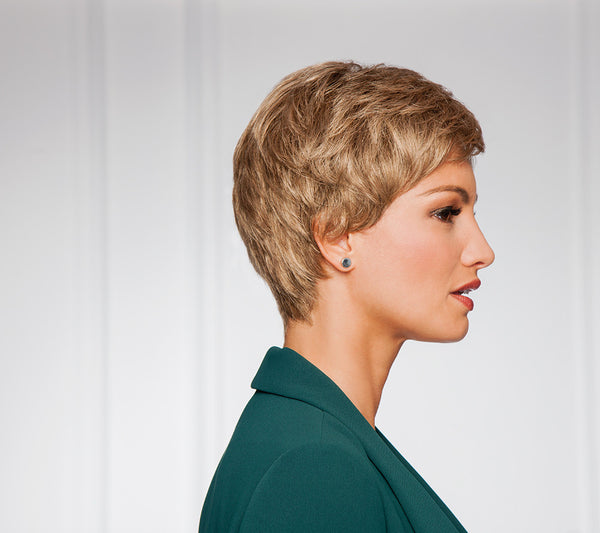 Pixie Perfect Short Petite Wig for Alopecia Chemotherapy Auckland New Zealand