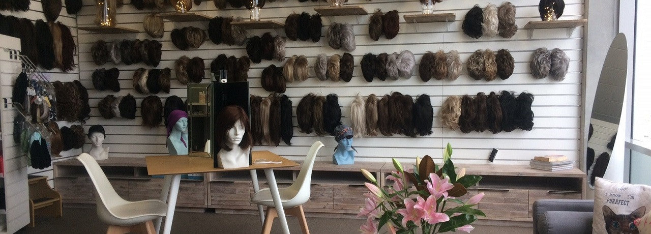 Picture of Jessica's Wig and Beauty Salon from inside. Wigs Auckland.