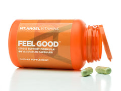 Mt. Angel Vitamins Feel Good Stress Support