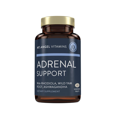 Adrenal Support - Adaptogens for Physical Stress - 60 Vegetarian Tablets