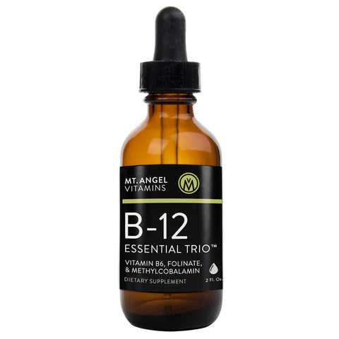 B-12 Essential Trio - 2 oz. liquid vitamin